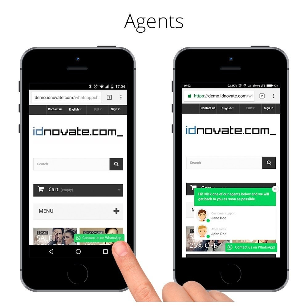 module - Ondersteuning & Online chat - WhatsApp Live Chat With Customers & WhatsApp Business - 4