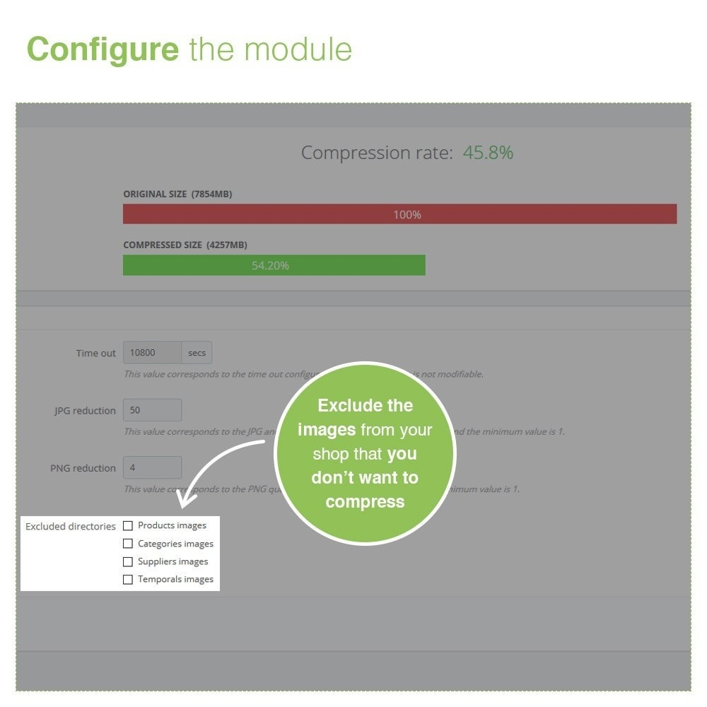 module - SEO (Pozycjonowanie naturalne) - Image Compress Optimization - Improve your Speed - 4