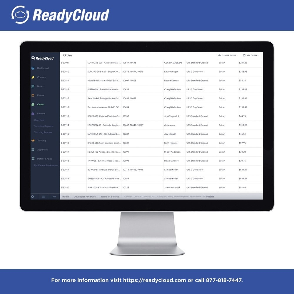 module - Third-party Data Integration (CRM, ERP...) - ReadyCloud E-Commerce CRM Software - 2