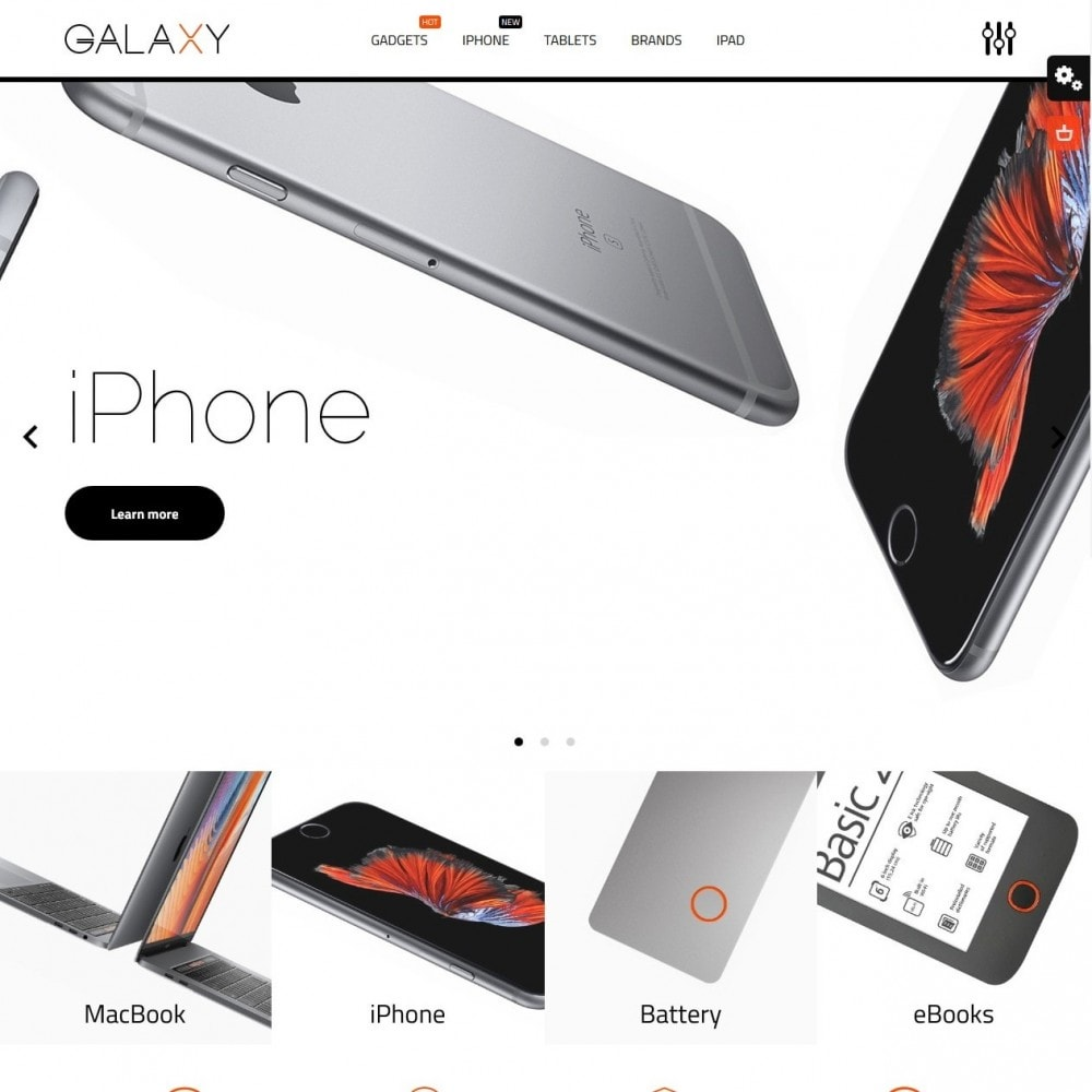 theme - Электроника и компьютеры - Galaxy - High-tech Shop - 2