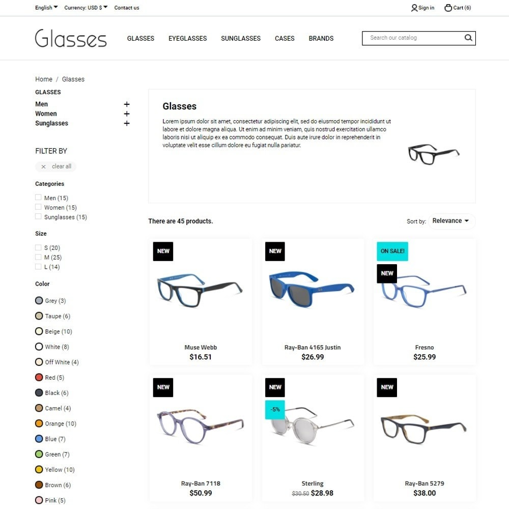 theme - Joyas y Accesorios - Glasses - 7