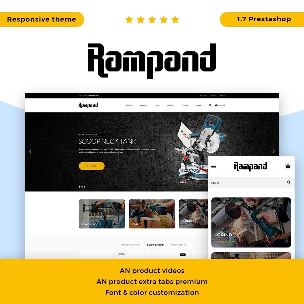 theme - Elettronica & High Tech - Rampand - 1