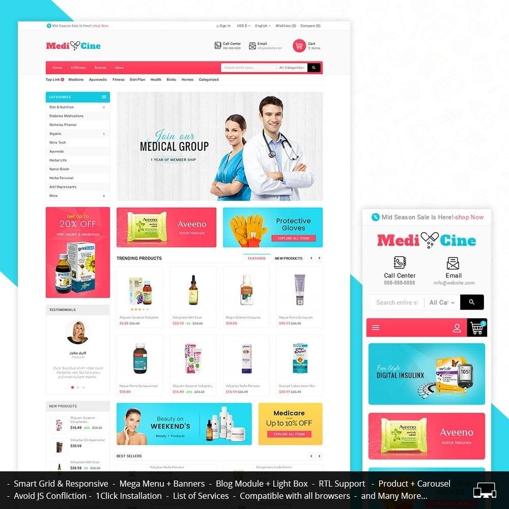 theme - Gezondheid & Schoonheid - Medicine Mega Store - 1