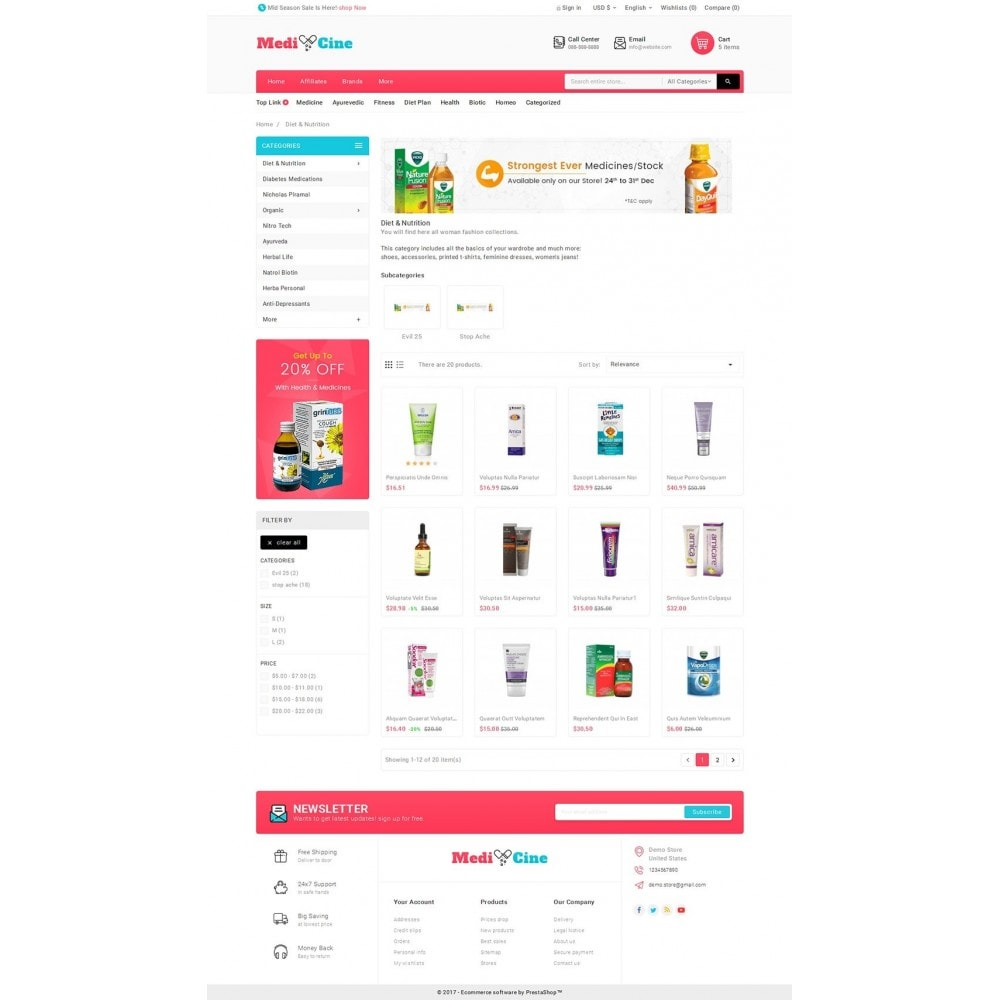 theme - Health & Beauty - Medicine Mega Store - 3