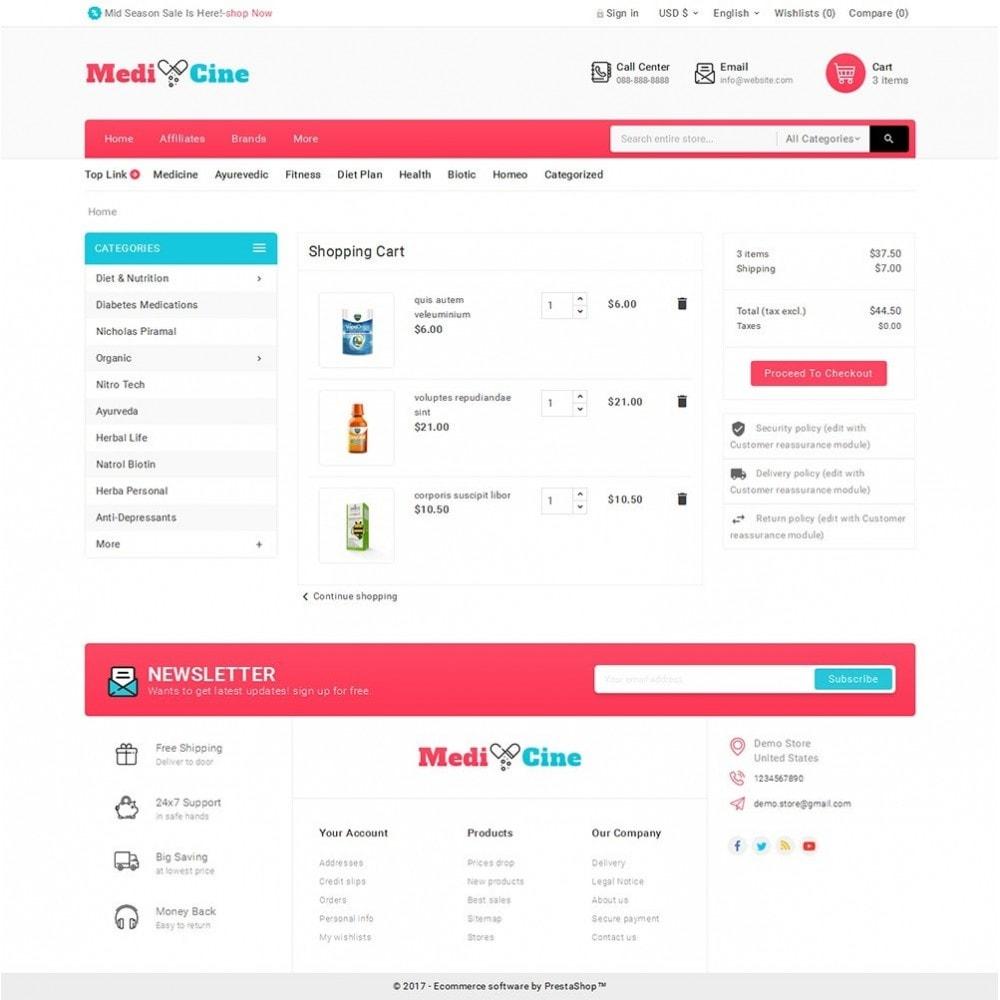theme - Gezondheid & Schoonheid - Medicine Mega Store - 6
