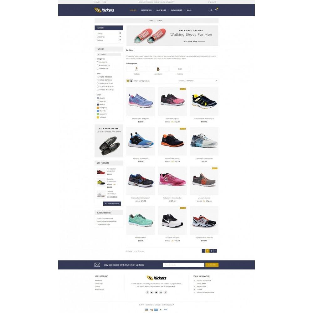 theme - Deportes, Actividades y Viajes - Kickers - Shoes Store - 3