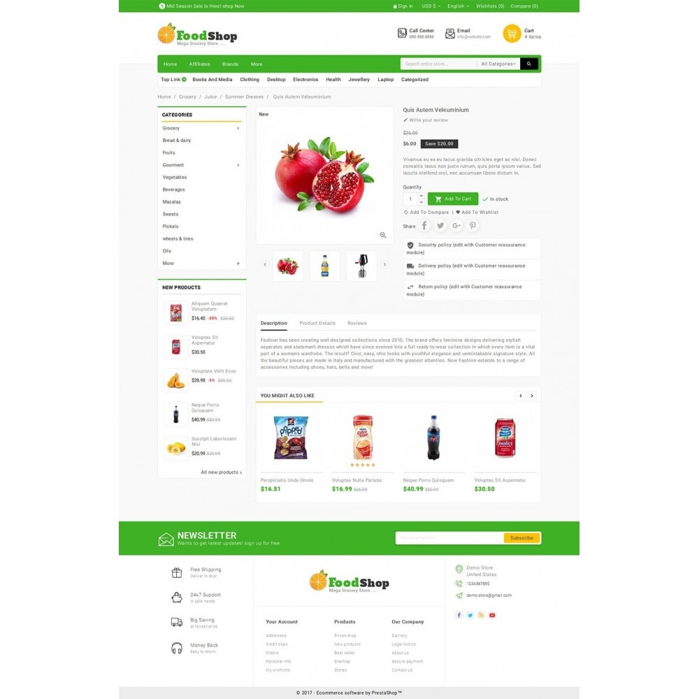 theme - Lebensmittel & Restaurants - Grocery Food Mega Store - 5