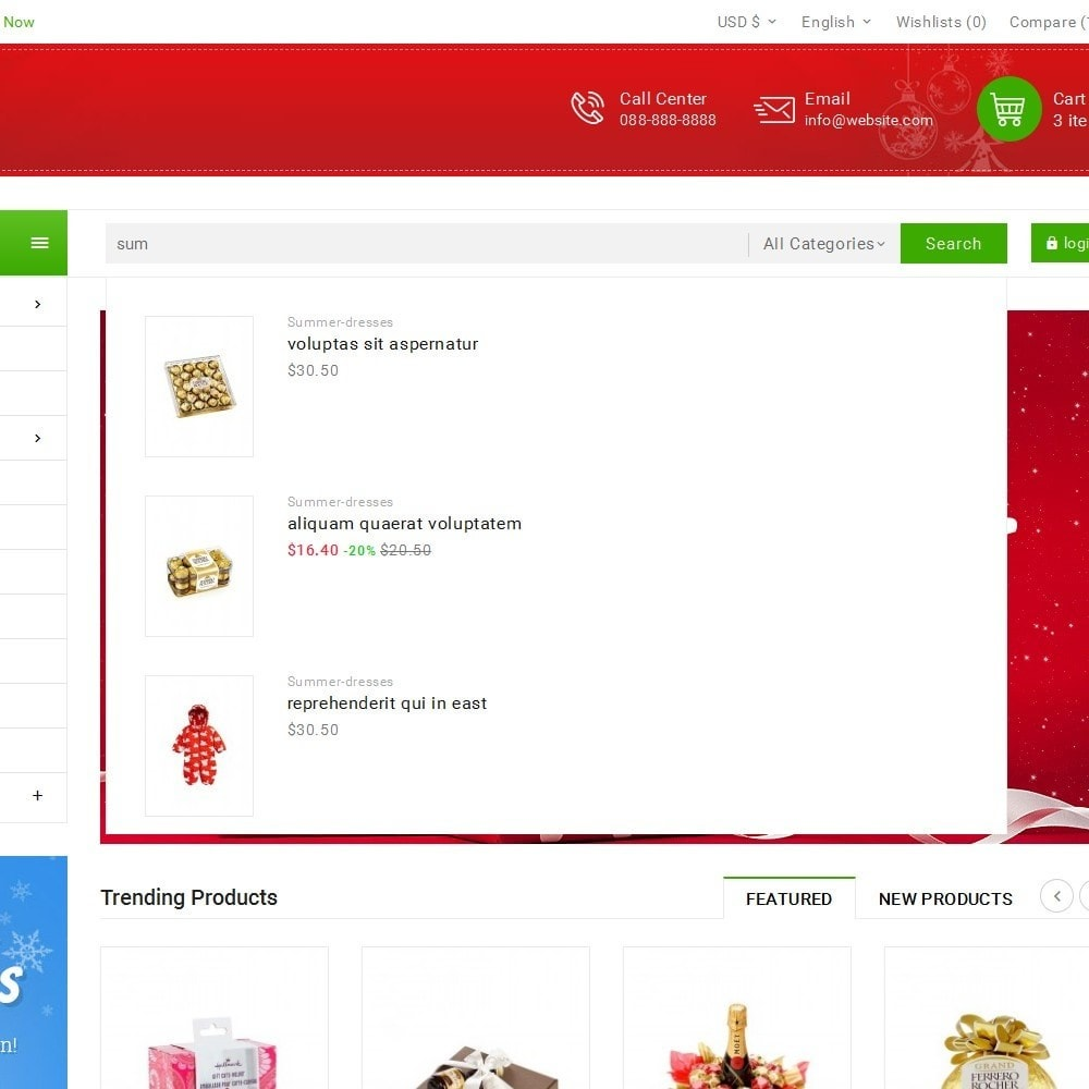 theme - Gifts, Flowers & Celebrations - Christmas Gift Mega Store - 10