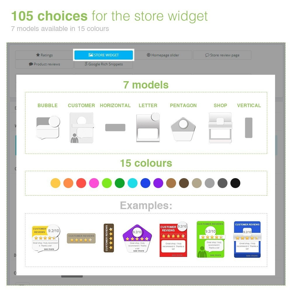module - Customer Reviews - Store Reviews + Product Reviews + Google Rich Snippets - 4