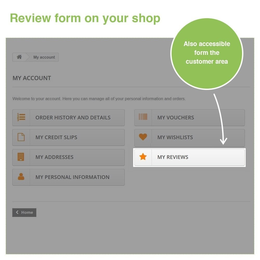 module - Отзывы клиентов - Store Reviews + Product Reviews + Google Rich Snippets - 30