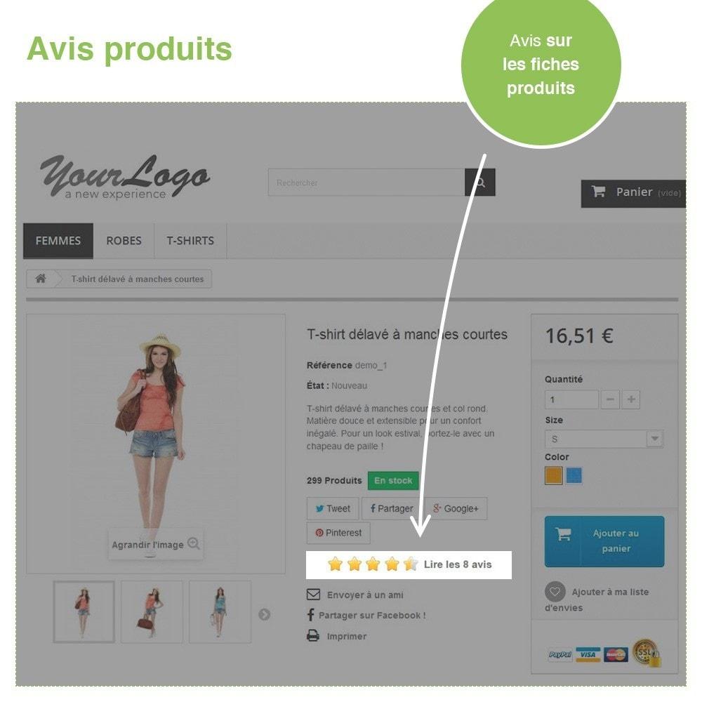 module - Avis clients - Avis Boutique + Avis Produits + Google Rich Snippets - 19