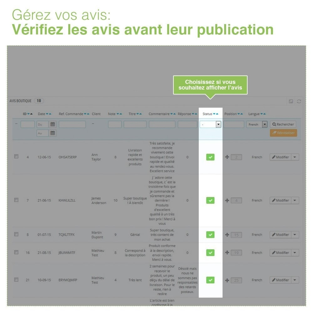 bundle - Avis clients - Confiance - Rassurez vos Clients - 3 Modules - 36