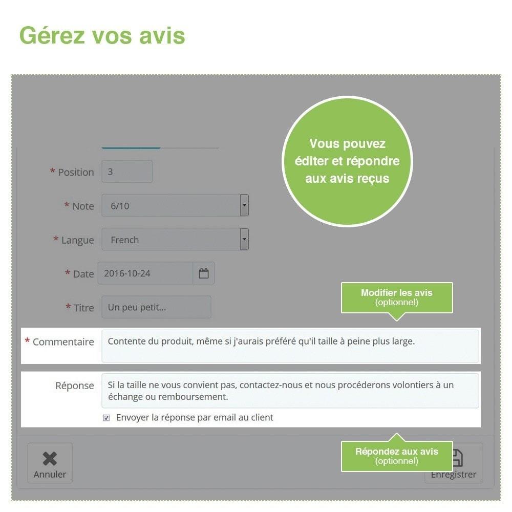 module - Avis clients - Avis Boutique + Avis Produits + Google Rich Snippets - 37