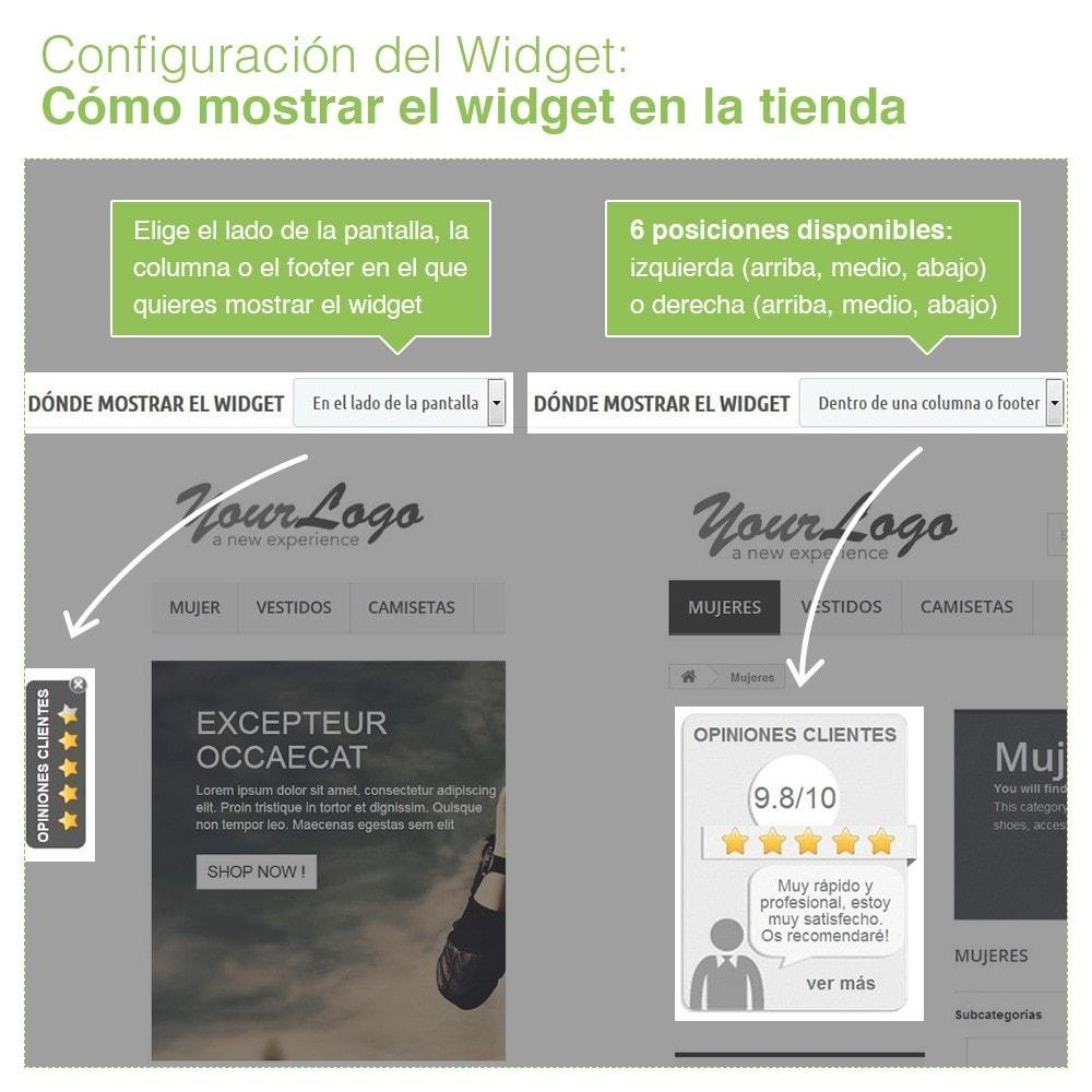 module - Comentarios de clientes - Opiniones Tienda + Opiniones Productos + Rich Snippets - 5