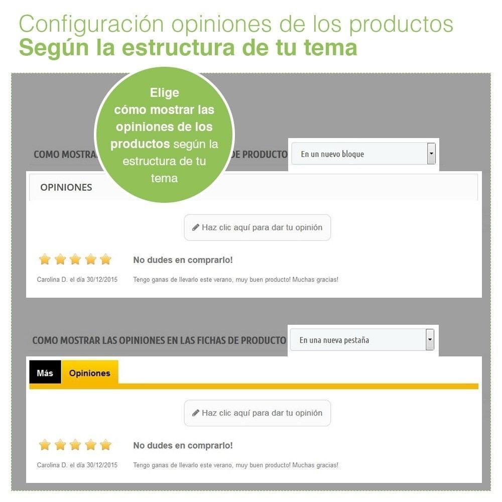 module - Comentarios de clientes - Opiniones Tienda + Opiniones Productos + Rich Snippets - 17