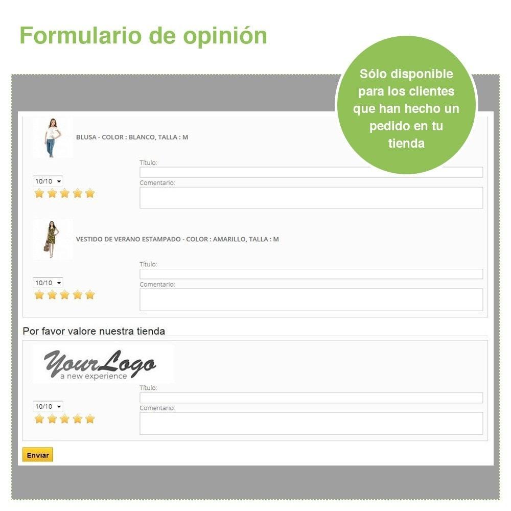 module - Comentarios de clientes - Opiniones Tienda + Opiniones Productos + Rich Snippets - 29