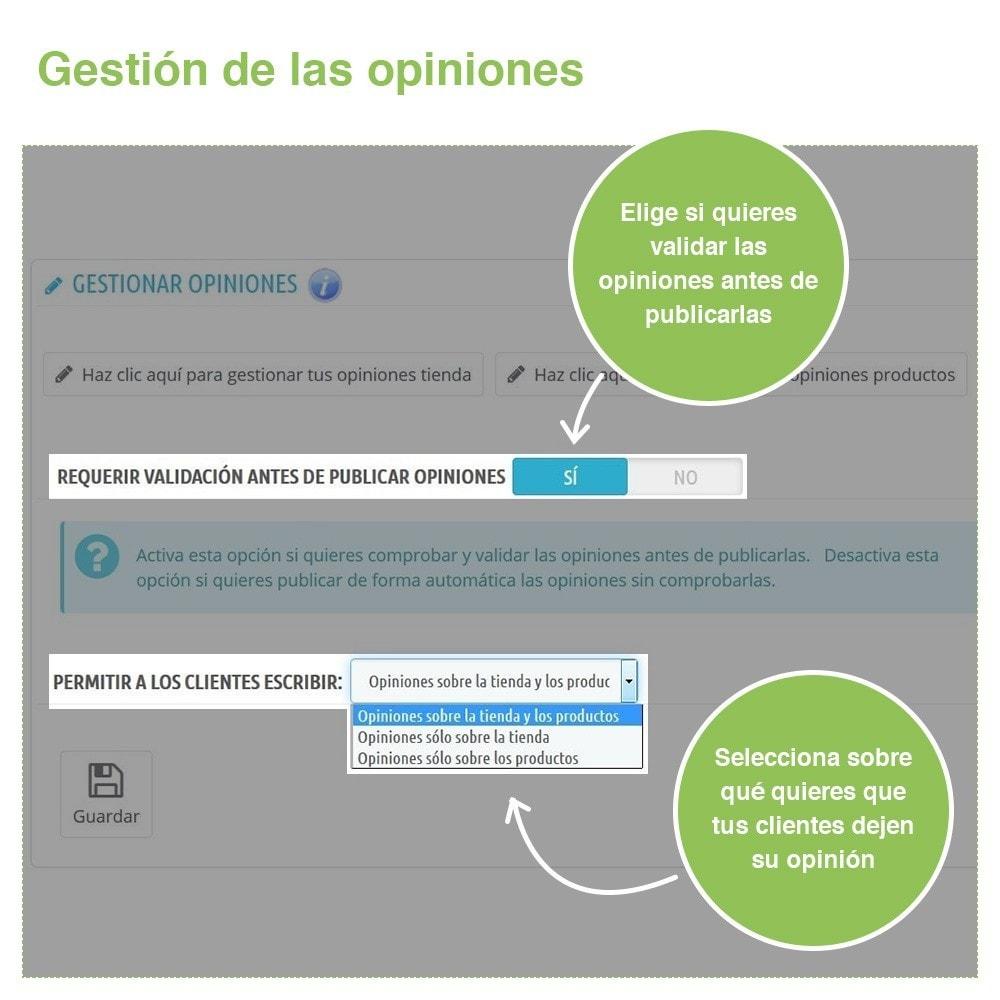 module - Comentarios de clientes - Opiniones Tienda + Opiniones Productos + Rich Snippets - 34