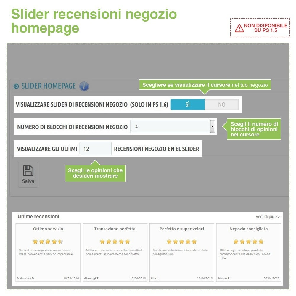bundle - Recensioni clienti - Trust Pack - Reassure your Customers - 3-Module - 12