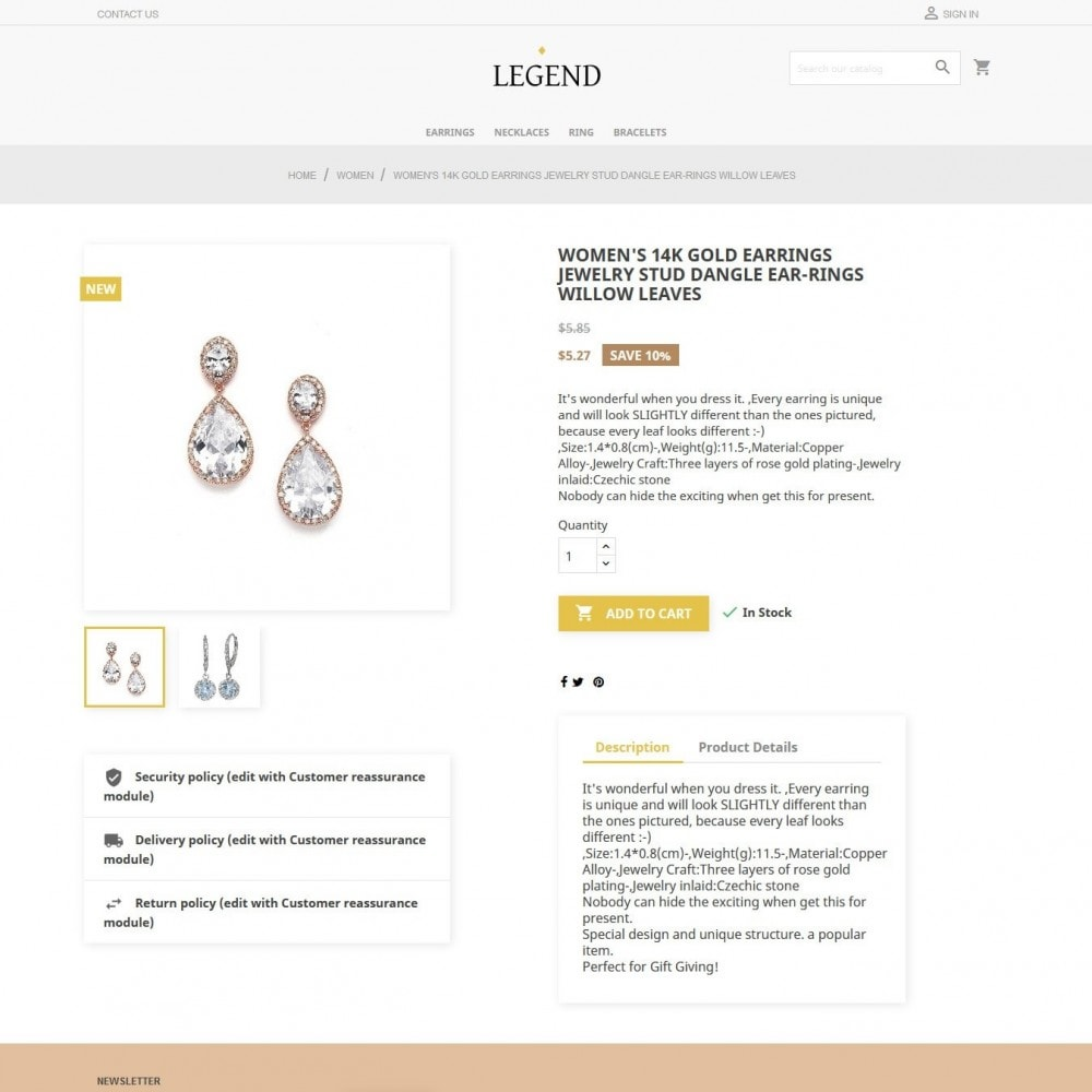 theme - Jewelry & Accessories - Legend - 4