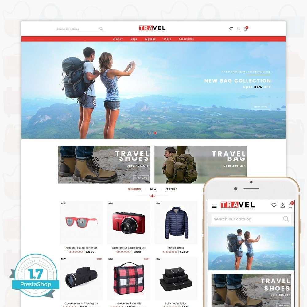theme - Спорт и Путешествия - Travel - The Special Travel Store - 1