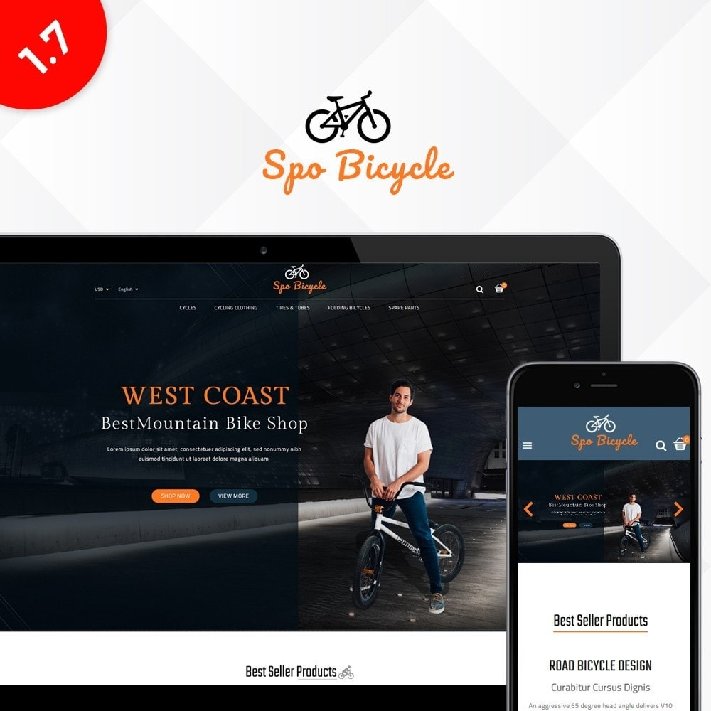 theme - Auto's & Motoren - Spo Bicycle Store - 1