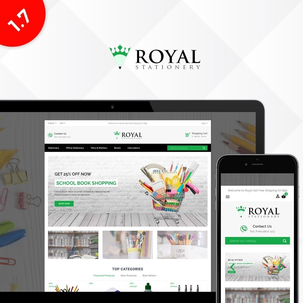 theme - Kinderen & Speelgoed - Royal Stationary store - 1