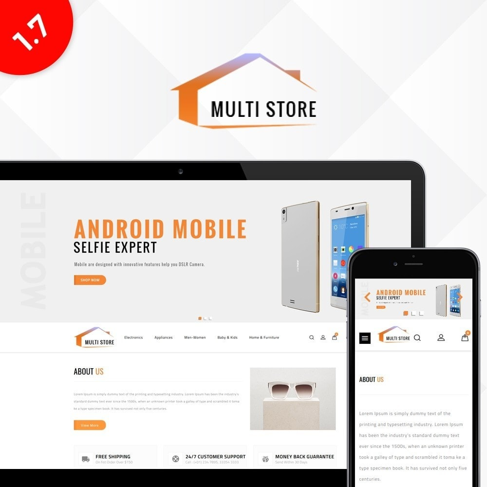 theme - Mode & Chaussures - Multi Store - 1
