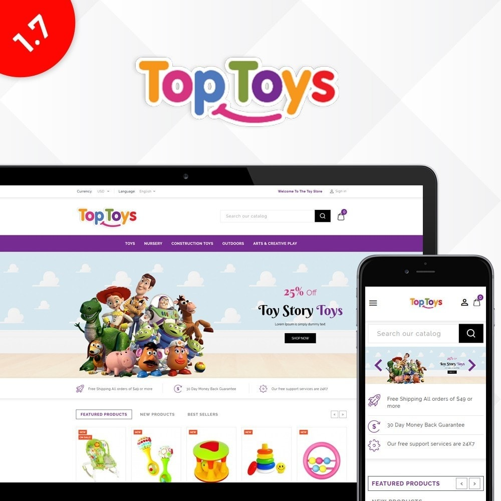 theme - Kids & Toys - Top Toys Store - 1