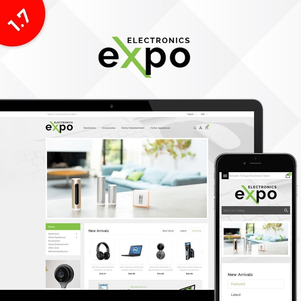theme - Elektronika & High Tech - Expo Electronics Store - 1