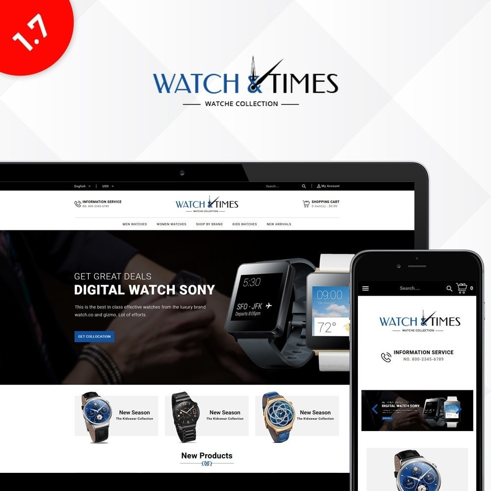 theme - Bellezza & Gioielli - Watch & Times Store - 1