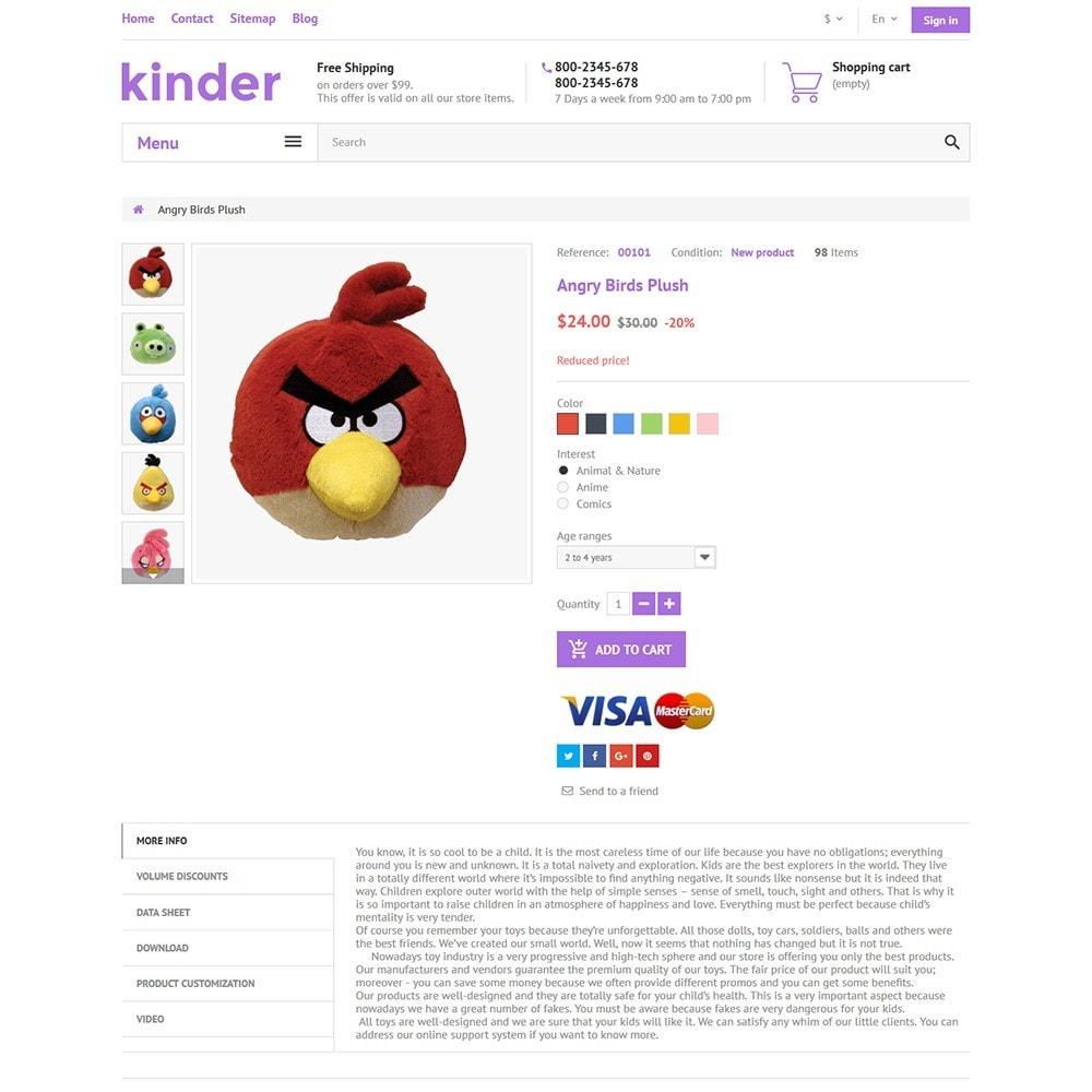 theme - Crianças & Brinquedos - Kinder - 3