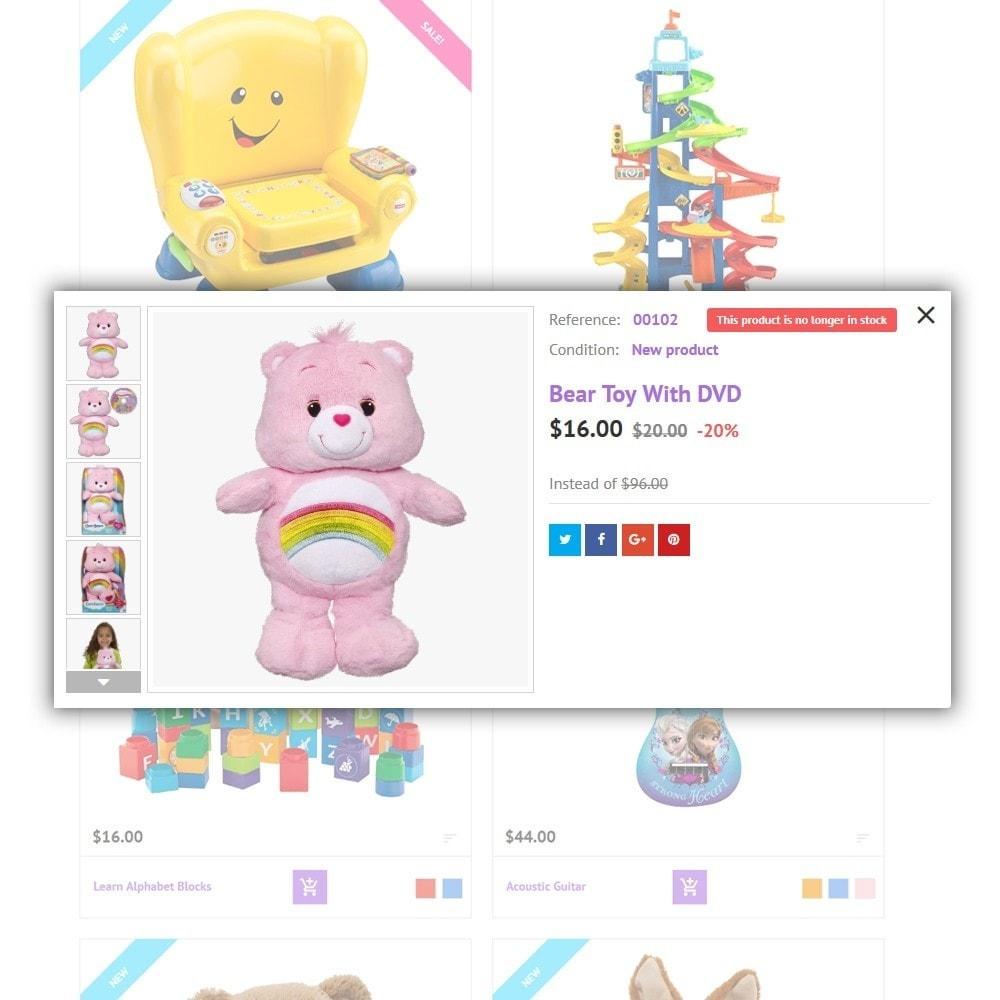 theme - Crianças & Brinquedos - Kinder - 4