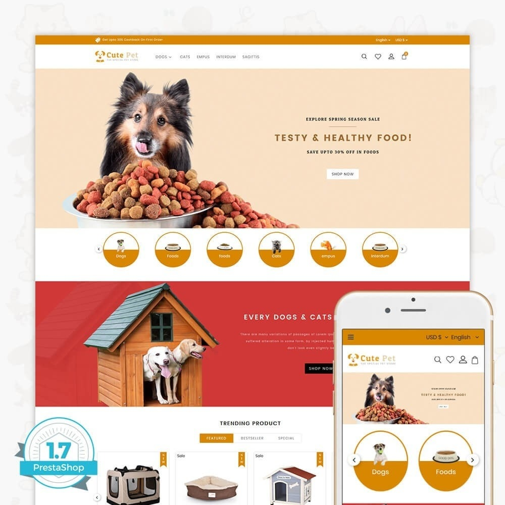 theme - Animais - Cute Pet - The Specials Pet Store - 1