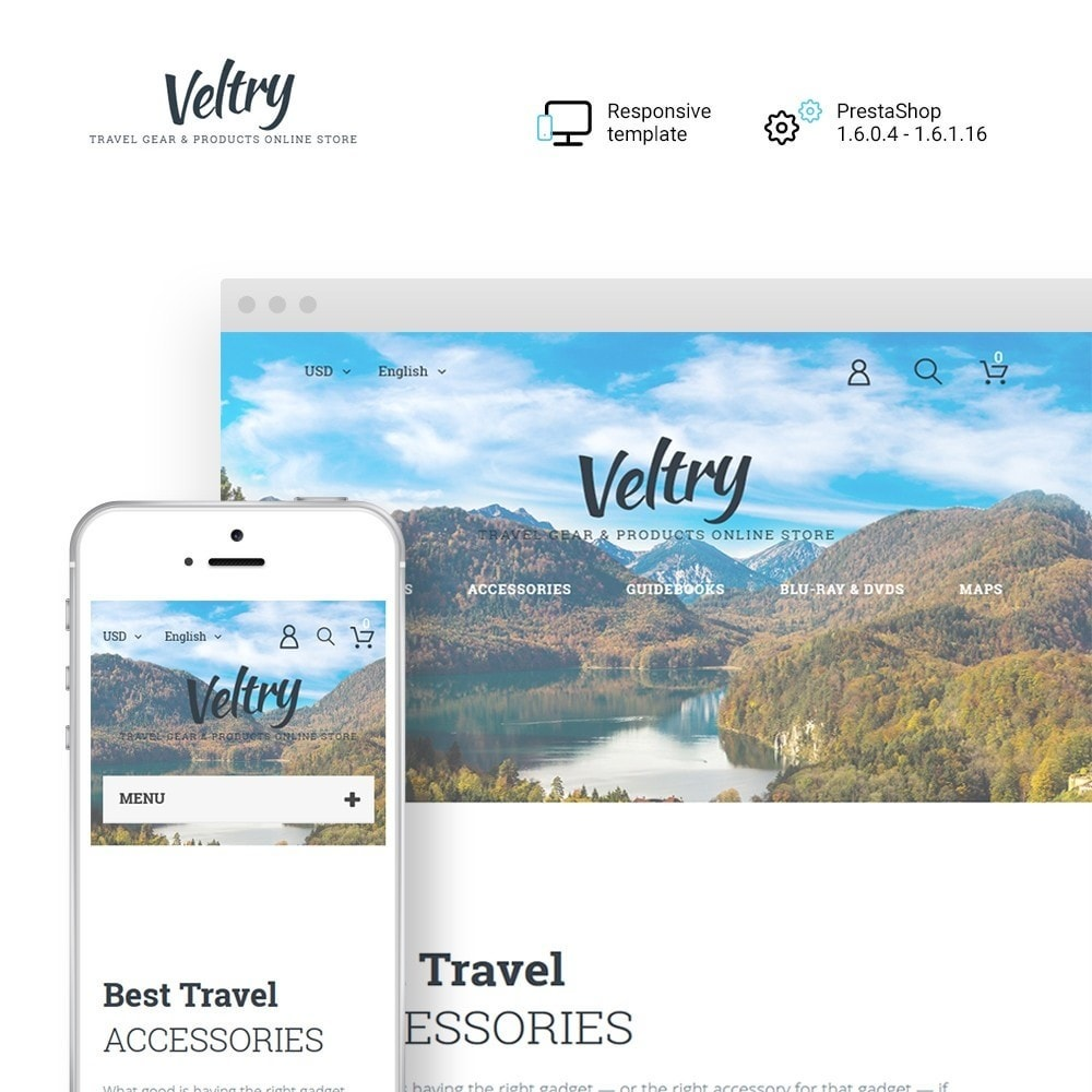 theme - Sports, Activities & Travel - Veltry - 1