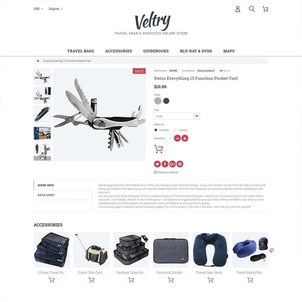theme - Desporto, Actividades & Viagens - Veltry - 3