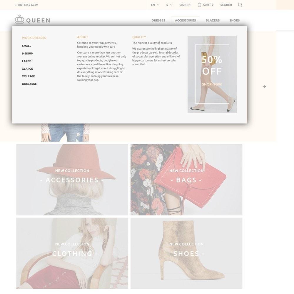 theme - Moda & Calzature - Queen - Womens Clothes - 6