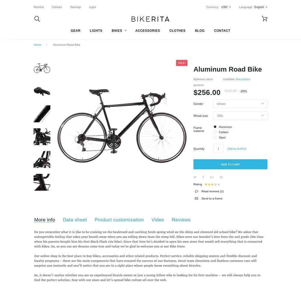 theme - Sport, Loisirs & Voyage - Bikerita - 3