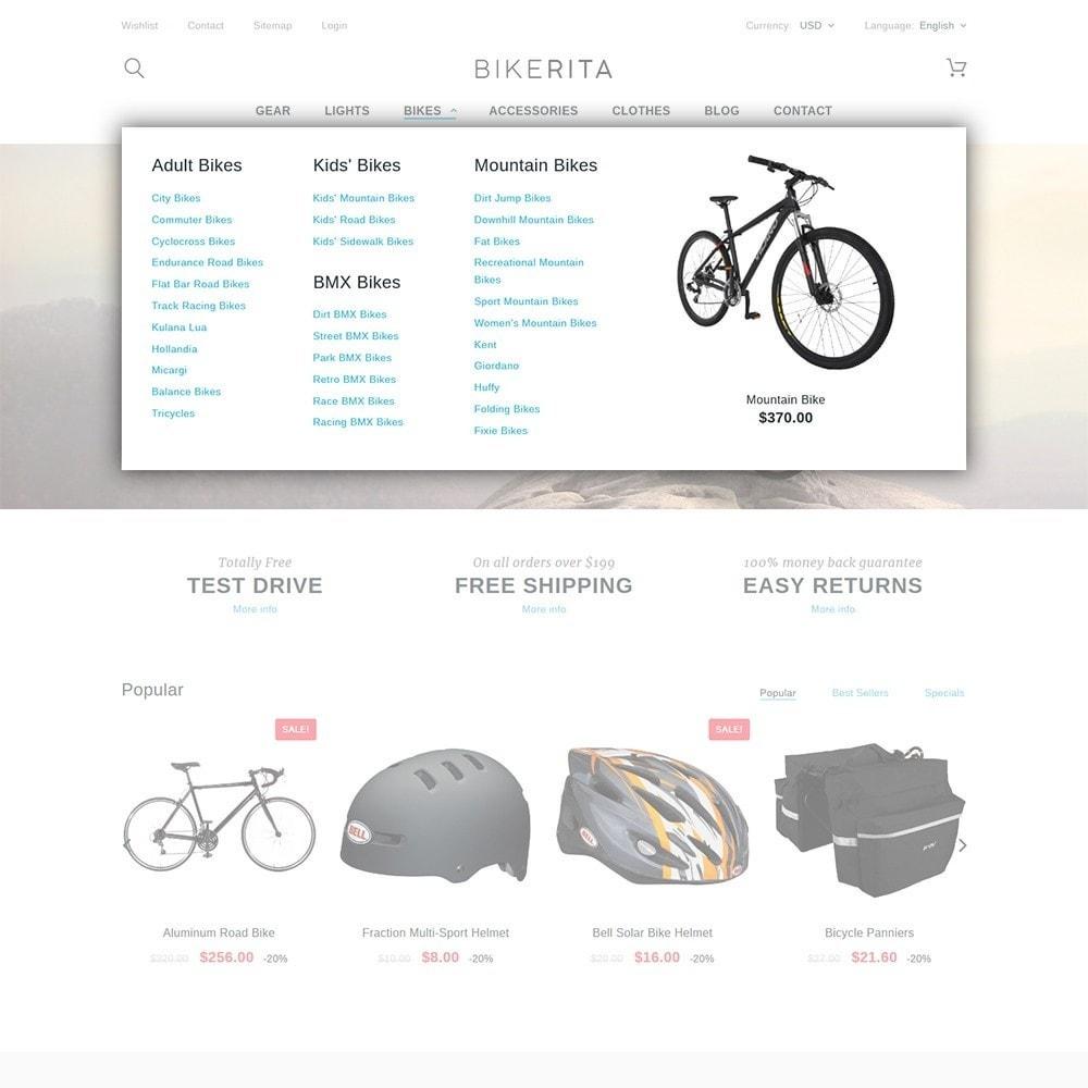 theme - Sport, Loisirs & Voyage - Bikerita - 5