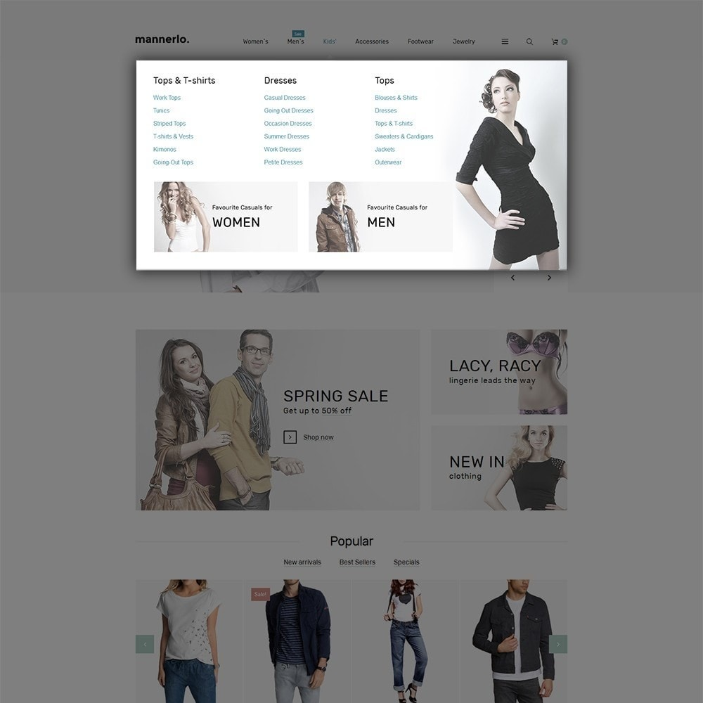 theme - Mode & Chaussures - Mannerlo - Apparel Responsive - 5