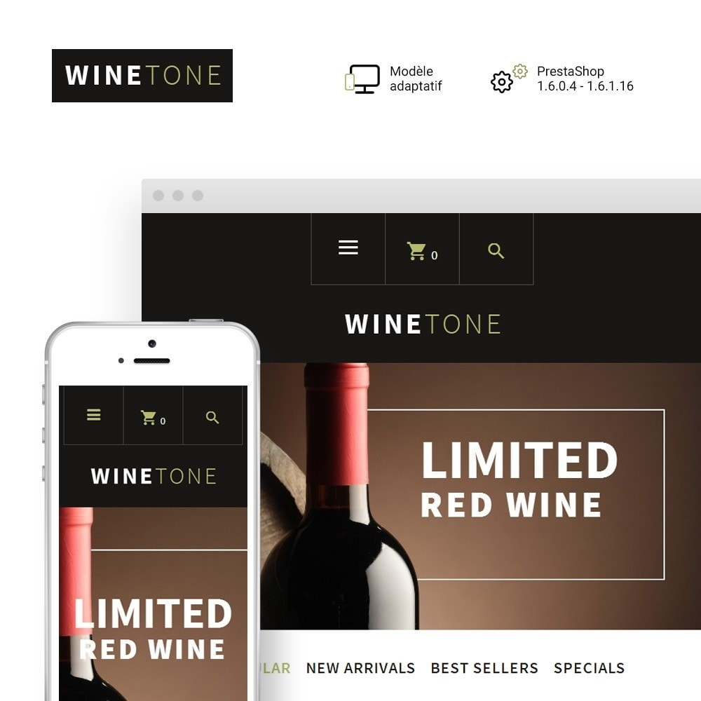 theme - Boissons & Tabac - WineTone - 1
