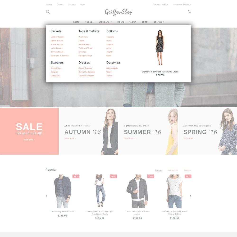 theme - Moda & Calçados - Griffon Shop - Apparel - 5