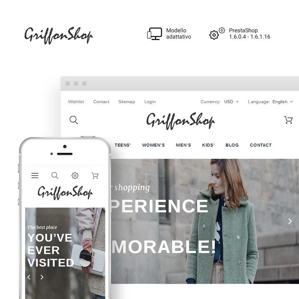 theme - Moda & Calzature - Griffon Shop - Apparel - 2
