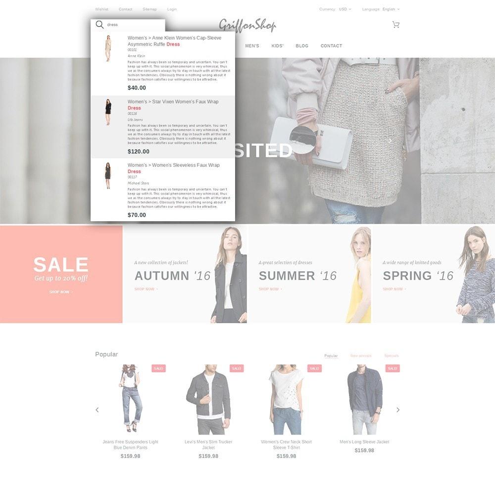 theme - Moda & Calzature - Griffon Shop - Apparel - 6