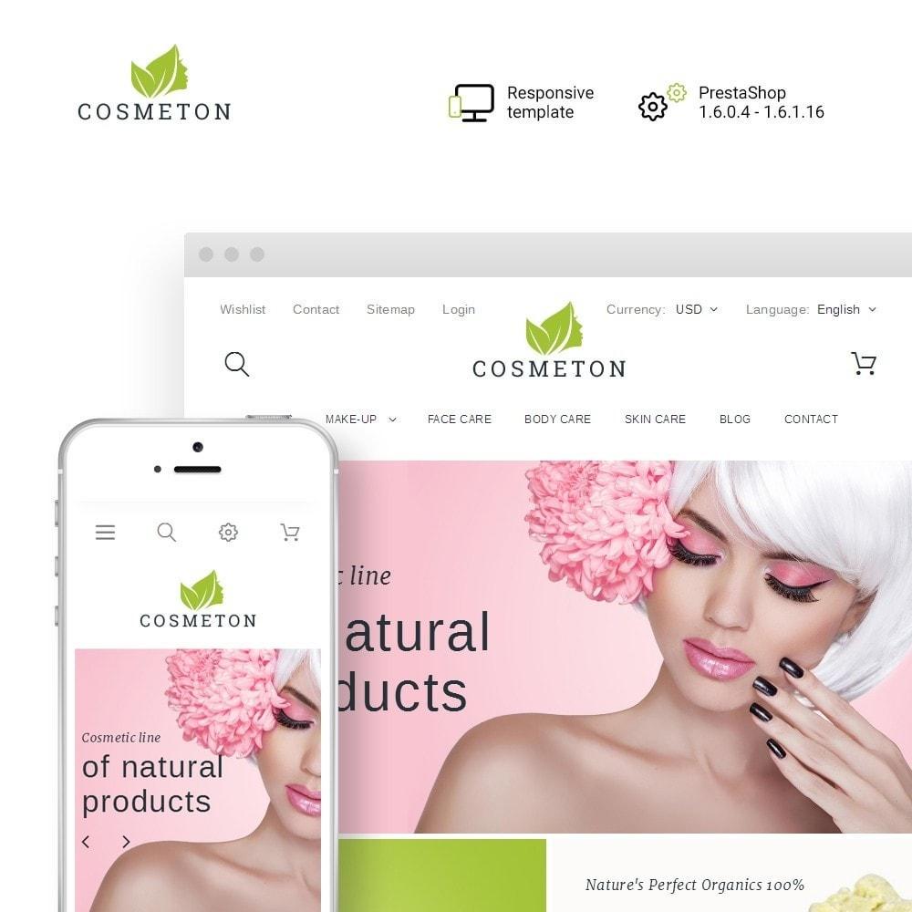 theme - Saúde & Beleza - Cosmeton - Skin Care - 1