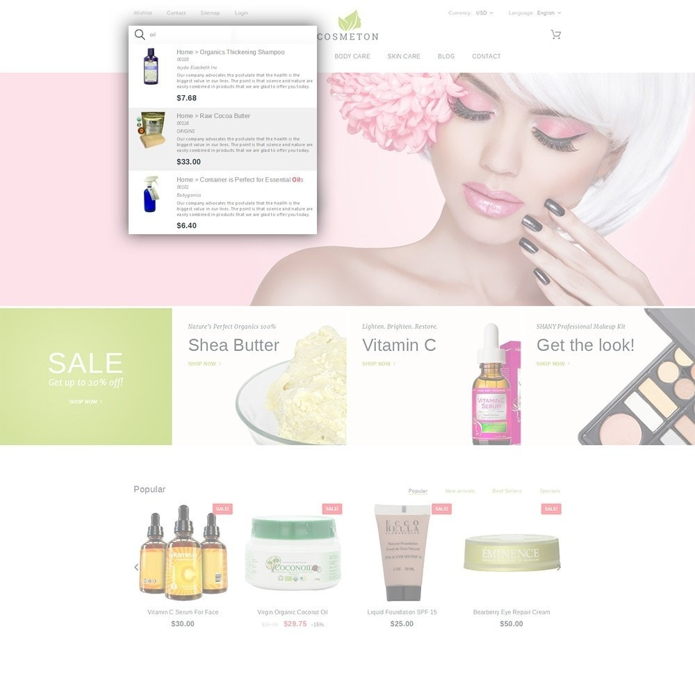 theme - Health & Beauty - Cosmeton - Skin Care - 6
