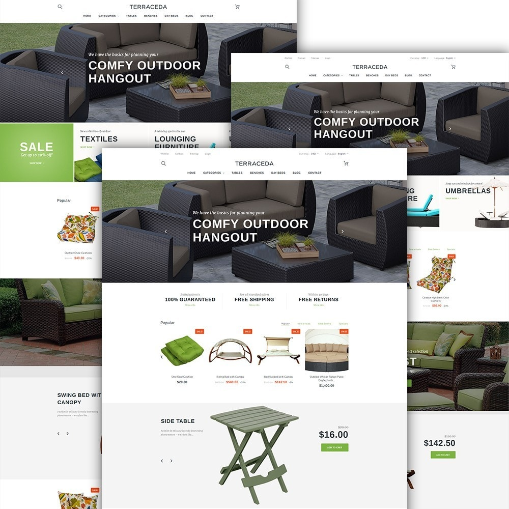 theme - Art & Culture - Terraceda - pour site de meubles - 2