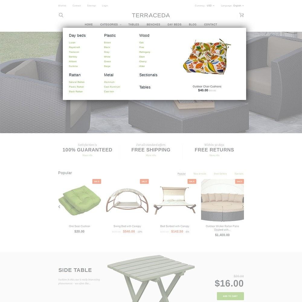 theme - Arte y Cultura - Terraceda - para Sitio de Muebles - 5