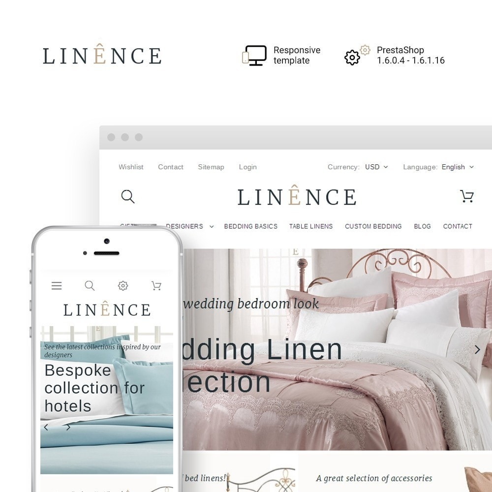 theme - Casa & Jardins - Linence - Bed Linen - 1