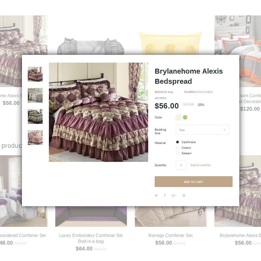 theme - Дом и сад - Linence - Bed Linen - 4