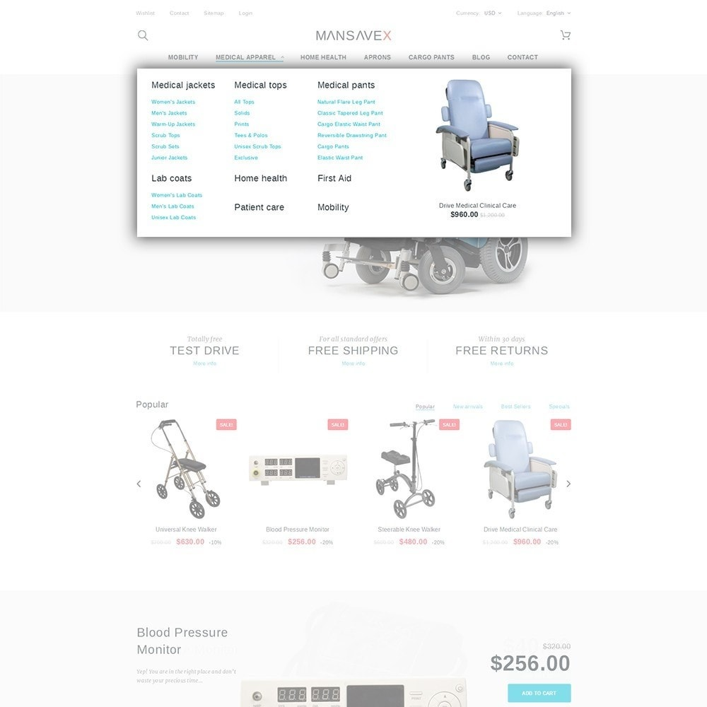 theme - Health & Beauty - Mansavex - Medical Equipment - 5